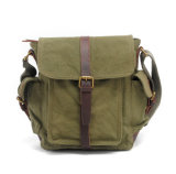 Hot Selling Good Quality Waxy Canvas Postmen Bag Messenger for School