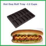 Non-Stick Hot Dog Roll Tray 12 Cups, Baking Pan (MY12401)