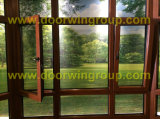 Wood Aluminum Replacement Windows, Best Quality Wood Aluminum Windows with Double Glazed Glass