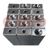Rare Earth Neodymium Block Magnets with a Countersink