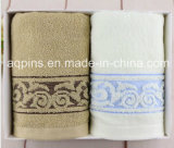 Custom Cotton Towel with Embroidered Logo (AQ-004)
