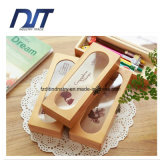 Custom New Design Bamboo Pen Box Multi-Function