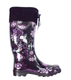 New Style Ladies Fashion Rubber Rain Boot for Woman (RT-0101)