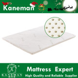 Natural Latex Vacuum Compressed and Rolled Mattress Topper as If on Clouds