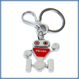 New Design Alloy Robot Pendant Key Chain
