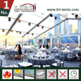 20X40m Clear Roof Transparent Wedding Tent for Luxury Party