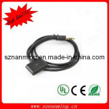 30pin Female to Stereo 3.5mm Lead Wire Cord (NM-USB-685)