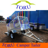 7 X 4 Box Trailer (BRAND NEW GALVANISED WITH TIPPER - FULLY WELDED) for Sale