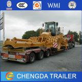 Heavy Duty Transport Equipment Trailer Low Bed 100-200 Ton