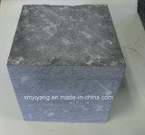 Zp Black Granite Paving/Cobble Stone for Outdoor Pavement