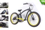 4.0 Inch Wide Fat Bike 48V 500W Electric Beach Cruiser High Speed