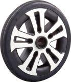 Black PU Foamed Stroller Wheel