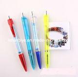 Factory Sale Plastic Transparent Banner Pen for Promotion (LT-C084)