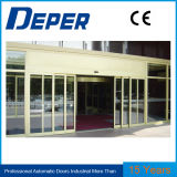 Overlapping Automatic Door