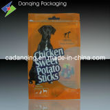Hot Sale Free-Standing Pet Food Pouch with Zipper