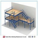 Germany Steel Warehouse Prefab Steel Warehouse, Pipe China Storage Mezzanine