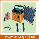 Mini Portable Solar Lighting System Built in FM Radio