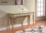 Console Table with 3 Drawer/ Clear Mirror