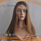 Straight 100% Brazilian Hair Front Lace Wig