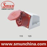 16A/32A Wall Mounting Socket IP44 3p+N+E 5pin for Industrial
