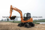 7t Wheel Construction Excavator