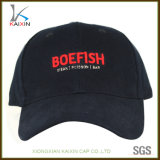 Custom Heavy Cotton Navy Blue 6 Panel 3D Embroidery Logo Baseball Cap
