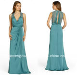 Hot Sale Fashion Long Elegant Bridesmaid Dress(B2)