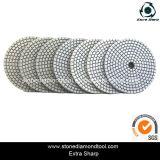 2014 New Style 7-Step White Diamond Flexible Polishing Pads