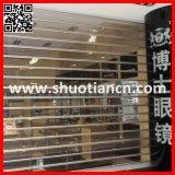 Electric Polycarbonate Transparent PC Roller Sliding Shutter Doors for Commercial Shop and Bank