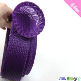 Flexible Insulation Polyester Material Braided Fabric Sleeves