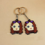 Cute PVC Figure Keychain for Souvenir