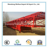 China 3 Axles Car Carrier Semi-Trailer, Low Bed Trailer