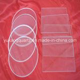 Round/Square Shape Thin Wall Quartz Plates/Disc/Windows