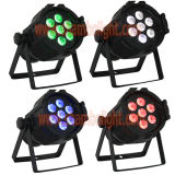 7PCS 10W 4 in 1 RGBW LED Mini PAR Stage Lighting