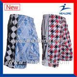 Fashion Logo League Match Sublimation Men′s Lacrosse Shorts