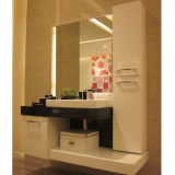 Oppein Modern White Lacquer Bathroom Cabinet (op12-p12-133)