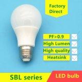 E27 3W/5W/7W/9W/12W/15W A60/A70 LED Plastic Aluminum Bulb