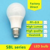 E27 5W/7W/9W/12W/15W/18W A60/A70 LED Plastic Aluminum Bulb