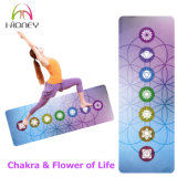 Colorful Watercolor Dreamcatcher Chakra Custom Printed Microfiber Yoga Mat