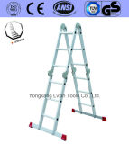 En131/GS Approved Aluminium Ladder with Thickness 1.5mm