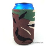 Professional Factory Produced Foldable Insulated Neoprene Beer Can Cooler Holder for Promotion