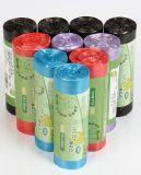 Colorful Custom Printing Biodegradable Trash Bag Disposable Garbage Bag