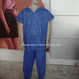 Stelized Disposable Nonwoven Surgical Gown for Doctor Surgery