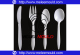 Plastic One-Time Fork Tableware Mould