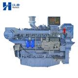 Weichai Deutz WP12C marine diesel motor engine with gearbox for fishing boat