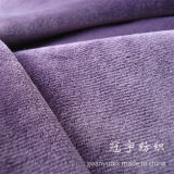 Extremely Soft Polyester Short Pile Velvet Fabric for Sofa