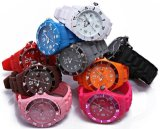 10ATM Fashion Ice silicone Watch (ARS-1034)