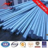 8m 25kn Galvanized Steel Tubular Pole