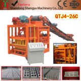Qtj4-26c Concrete Cement Block Brick Making Machine Price