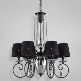 Artistic Black Chandelier Crystal (74610)